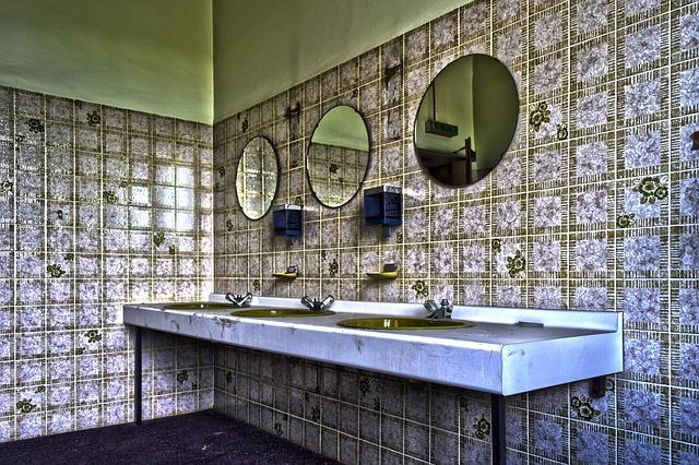 plesen v kopalnici soda bikarbona